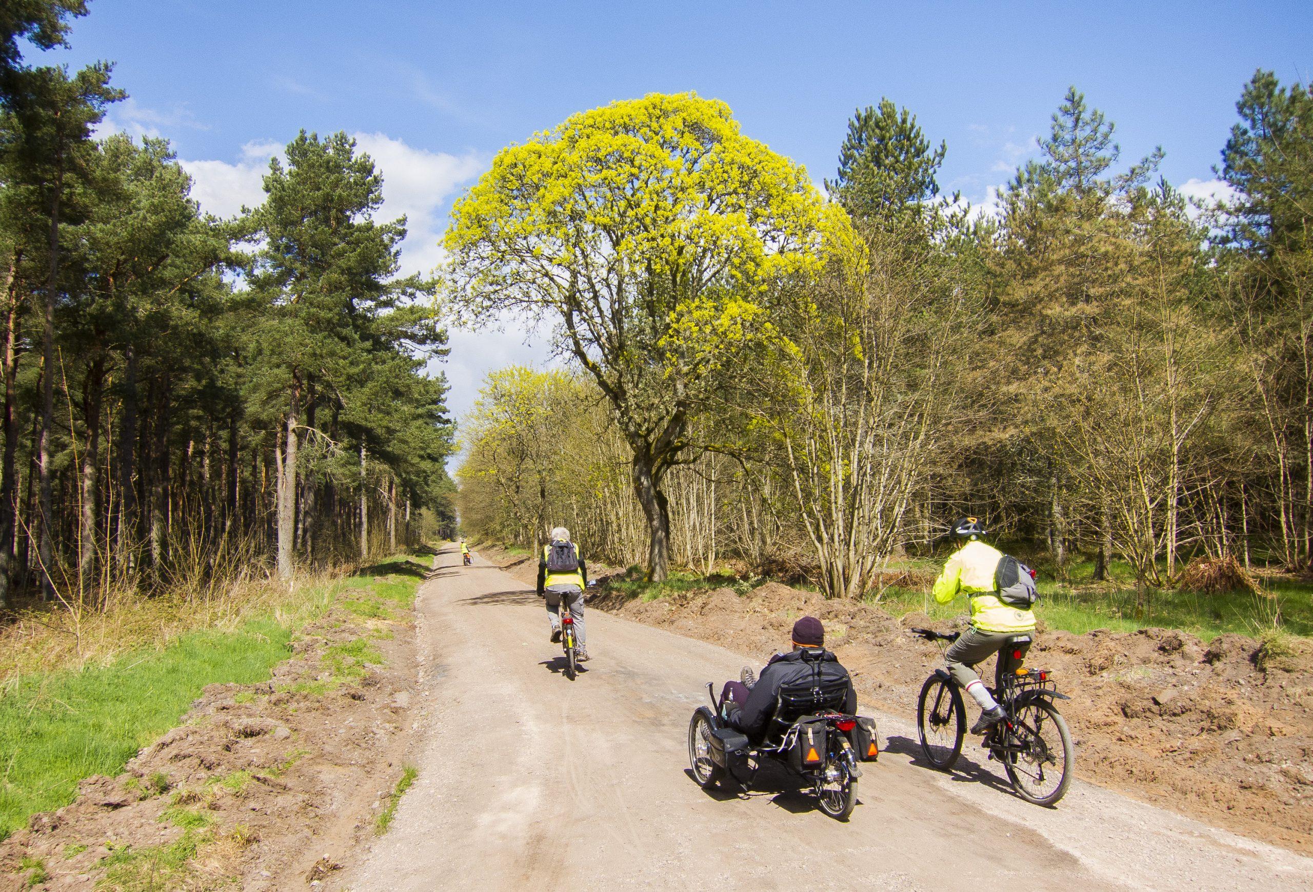 Larick Campsite - History and Culture - tentsmuir bike 3