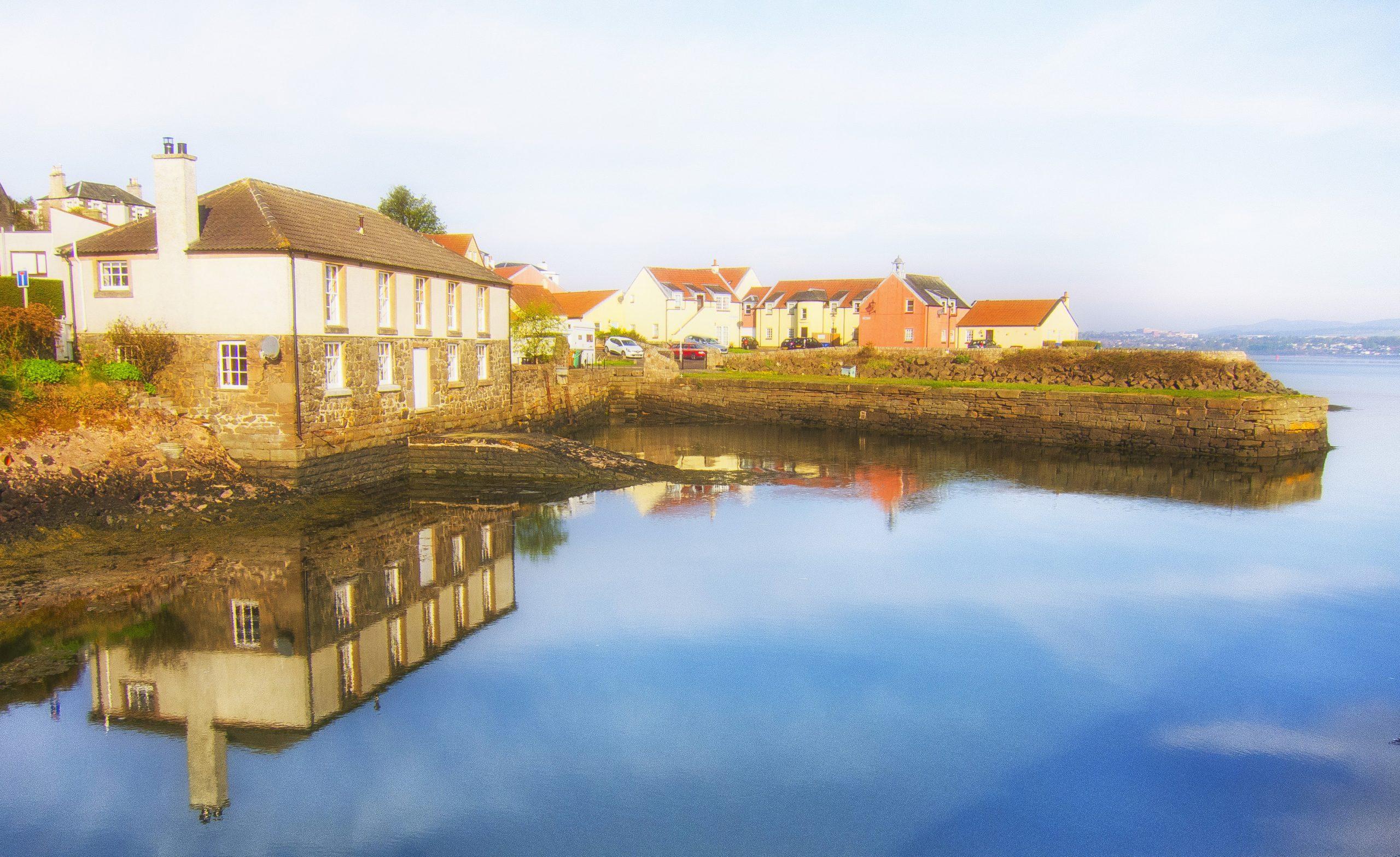 Larick Campsite - homepage - tayport harbour 1